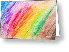 Colorful Painting Pattern Greeting Card