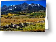 Colorful Ranch Greeting Card