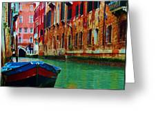 Colorful Relics Of Venice Greeting Card