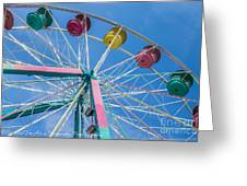 Colorful Ride Greeting Card