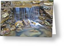 Colorful Rocks And Water Greeting Card