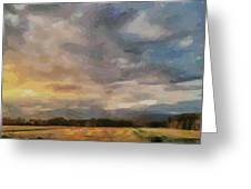Colorful Sky Greeting Card