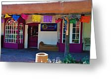 Colorful Store In Albuquerque Greeting Card