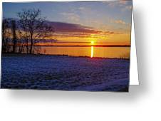 Colorful Sunrise Greeting Card
