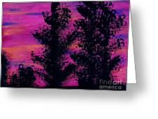 Colorful - Sunset Greeting Card