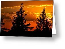 Colorful Sunset II Greeting Card