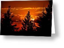 Colorful Sunset IIl Greeting Card