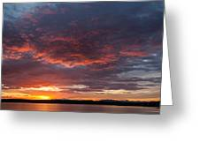Colorful Sunset, Snaefellsnes Greeting Card