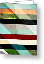 Colorful Textured Abstract Greeting Card