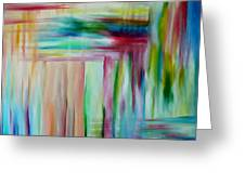 Colorful Waters Greeting Card