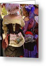 Colorful Wenches Greeting Card
