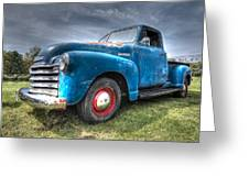 Colorful Workhorse - 1953 Chevy Truck Greeting Card