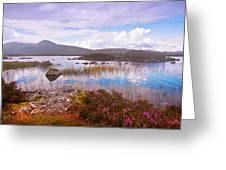 Colorful World Of Rannoch Moor. Scotland Greeting Card