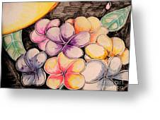 Colors Bloom Greeting Card