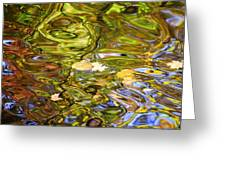 Colors Collide Greeting Card