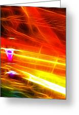 Colors Explosion Greeting Card