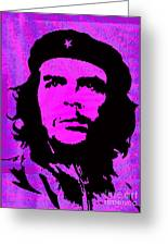 Colors Of Che No.1 Greeting Card