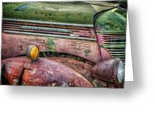 Colors Of Corrosion Greeting Card