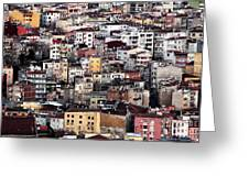 Colors Of Istanbul Greeting Card