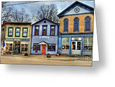 Colors Of Metamora 2 Greeting Card