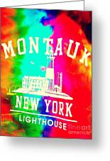 Colors Of Montauk Greeting Card