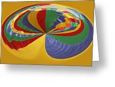 Colors Of Motion Greeting Card