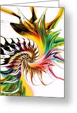 Colors Of Passion Greeting Card