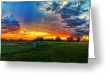 Colors Of Shadle Park Greeting Card by Dan Quam