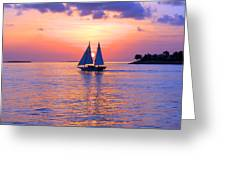 Colors Of Sunset Greeting Card