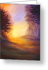 Colors Of The Morning Light Greeting Card