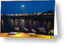 Cala Corb In Es Castell - Minorca - Colors Of The Moonlight   Greeting Card