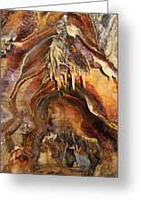 Colors Of The Ohio Caverns Greeting Card