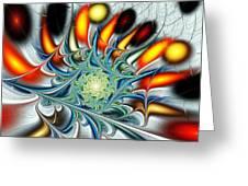 Colors Of The Spirit Greeting Card by Anastasiya Malakhova