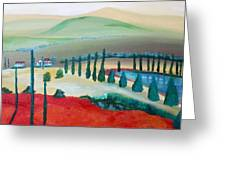 Colors Of Tuscany Greeting Card