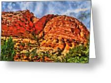 Colors Of Zion Greeting Card
