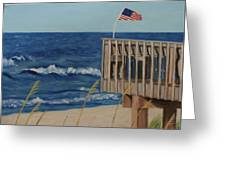 Colors On The Breeze Greeting Card