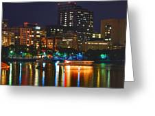 Colors On The Charles Greeting Card