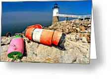 Colors On The Rocks Greeting Card