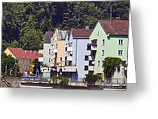 Colorul Houses In Germany Greeting Card