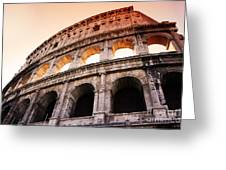 Colosseum Italy Greeting Card