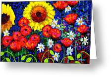 Colour Cluster Greeting Card