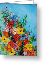 Colour Of Spring Greeting Card