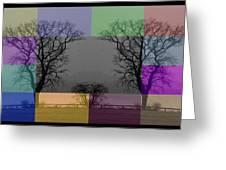 Colour Tile Greeting Card