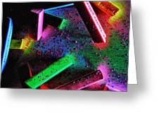 Coloured Chalks  Greeting Card
