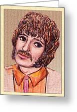 Coloured Pencil Portrait Greeting Card
