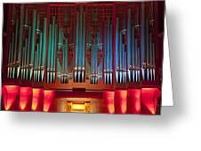 Colourful Organ Greeting Card