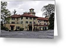 Columbia Gorge Hotel Greeting Card
