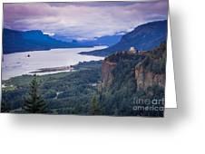 Columbia River Gorge Greeting Card