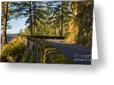 Columbia River Gorge Highway Greeting Card