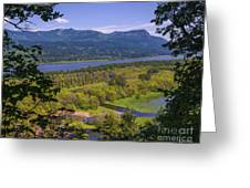 Columbia River Gorge - Oregon Greeting Card